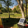The solar generator in use in Zion National Park. Photo by Kevin Stevens for Networx.