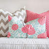 Pretty textiles are only the tip of the iceberg of costs for decorating a new house. (Photo: jade/morguefile.com)