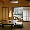 Photo of room divider screens in a Japanese dwelling by Terraxplorer/istockphoto.com.