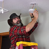 It's a good idea to install smoke detectors this time of year. Photo: KMS Woodworks