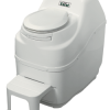 Look at that. It looks like an iTtoilet. My apartment toilet looks like a walkie-talkie in comparison.