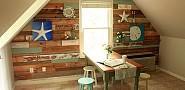 DIY pallet wall by Pretty Handy Girl via Hometalk.com.
