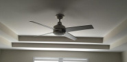 New ceiling fan installation