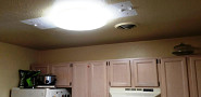 New kitchen light fixture
