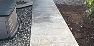 AFTER Great-looking concrete sidewalk