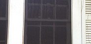 What you see right here is an exterior shade screen. They help keep heat out of your house in the hot summer months.