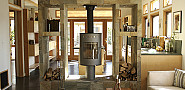 Modern trim in a remodeled Craftsman house.  Jeremy Levine Design/Flickr.