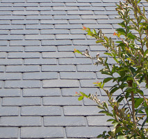 Fireman roofing networx for Fiber cement composite roofing slate style