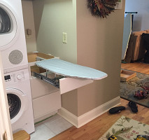 Retractable Ironing Board Installed To Maximize Small Space1 ...