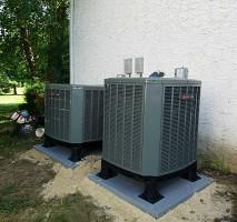 trane xr14. 2 trane xr 14 condenser installations xr14 o