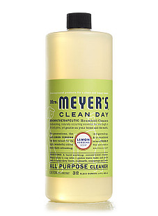 Mrs. Meyer's Clean Day All Purpose Cleaner in Lemon Verbena. Photo via MrsMeyers.com