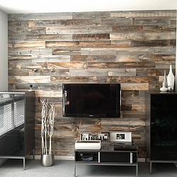 Stikwood The New Peel And Stick Wood Paneling Articles