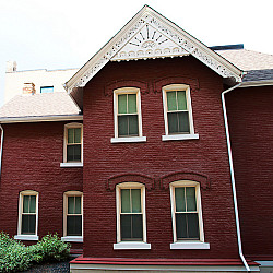 the problem with painting a brick house articles