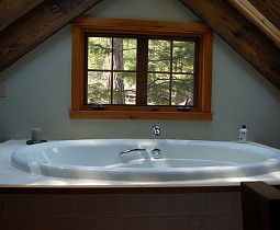 nice soaking tub