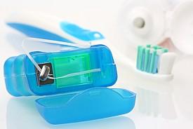 Photo of dental floss by zimmytws/istockphoto.com.