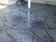 decorative concrete overlays for patios or pool decks - networx