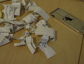 A razor scraper is an effective way to remove mailing labels. (Photo: daveynin's buddy icon 	 daveynin/Flickr)