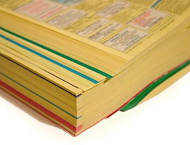 Check out these 17 DIY ways to upcycle a telephone book. (Photo: sjlocke/istockphoto.com)