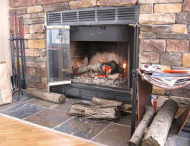 Add a phone book to that stack of paper by the fireplace. (Photo: Zepfanman/flickr)