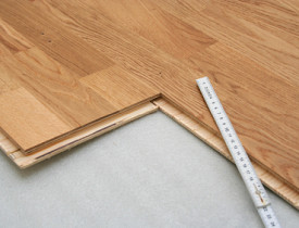 green underlaying materials for floating floors
