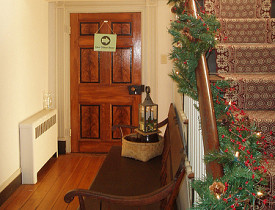 I want that door and floorboards. Photo of Mt. Bleak Historic House by vastateparkstaff/Flickr Creative Commons