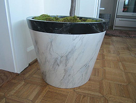 Planter and photo by Kass Wilson/Wallstreat Studios.