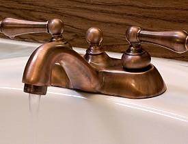 30 perfect copper bathroom fixtures for Copper bathroom light fixtures