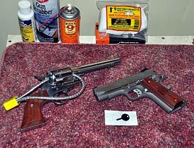 My safe guns.  -- Kevin