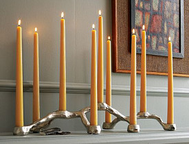 The West Elm Root Candelabra via Westelm.com