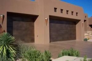 Good Copper Garage Door