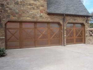 Copper Garage Door