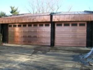 Popular Copper Garage Door Styles: