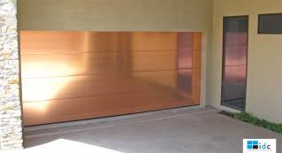 Stainless Steeel Garage Door