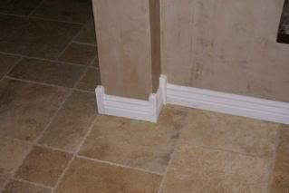 Crown molding baseboard trim networx Baseboard height