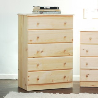 5 drawer chest by Gothic Cabinet Craft