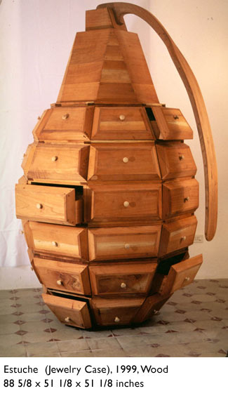 The Grenade Dresser by Los Carpinteros via PBS.org