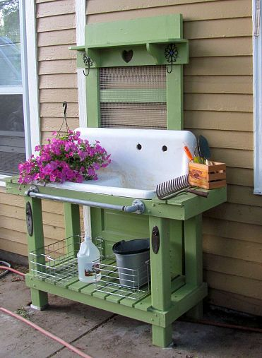 Build a Potting Bench This Spring Articles Networx
