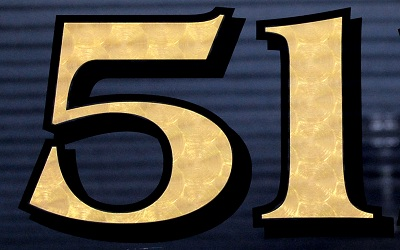 Solid Gold Vinyl House Numbers Yes It Is Real Networx - Custom vinyl decals numbers
