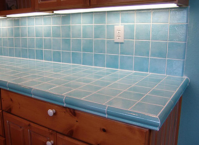 Countertop Edge Options For Tile : Tile manufacturers often make special edge pieces to match their tiles ...