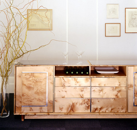 The Clad Media Cabinet by City Joinery via CityJoinery.com