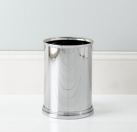 The Newbury Wastebasket from Restoration Hardware