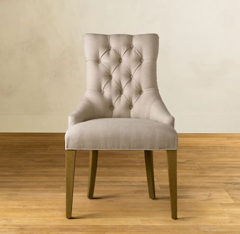 Traditional The Restoration Hardware Martine Chair Has A Popular Updated Classic Style That Works Well In And Transitional Homes
