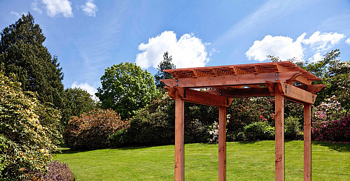 Pergola/Courtesy Humboldt Redwood