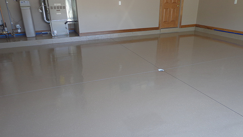 Fort Wayne, Indiana - Garage Epoxy 012