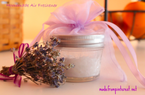 DIY homemade air freshener, lavender scent