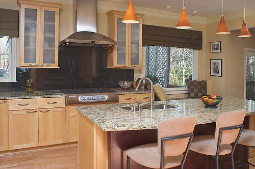 Photo Of A Contemporary Kitchen In Beige Tones And Remodel By AK Complete  Home Renovations Via