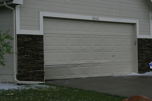 Garage Door Accidents : Photos of accidents backed into garage door networx
