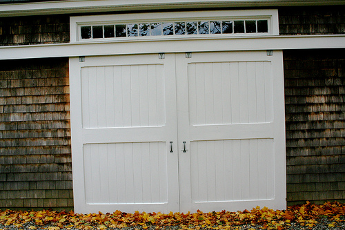 Barn Garage Doors sliding barn door garage doors - networx