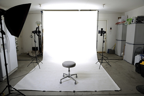 This person turned his garage into a photography studio. (Photo: Illusive Photography/Flickr)