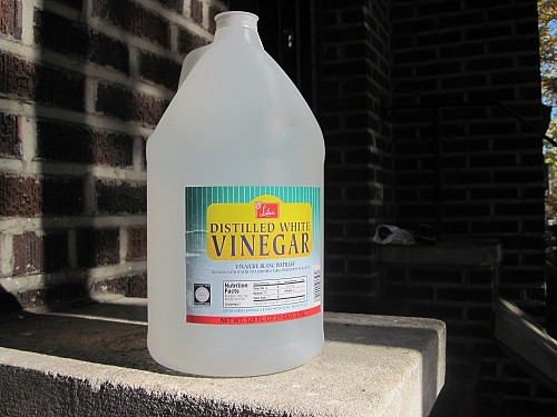Vinegar is a good DIY fabric softener.